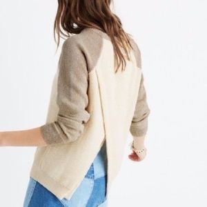 Madewell Split Back Province Sweater